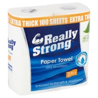 Livi Really Strong Kitchen Towel 100s Pk2