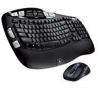 Logitech MK550 Wave Wireless Desktop Keyboard and Mouse Set