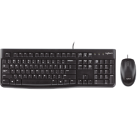 Logitech MK120 Desktop USB Keyboard & Mouse Combo