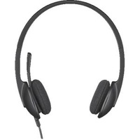 Logitech H340 Stereo Headset with Microphone USB Black