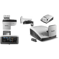 Benq MH856UST Projector Bundle Ultra Short Throw, Hd + Wall Mount Kit + Interactive Pen + Finger Touch Module