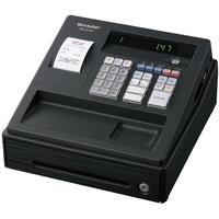 Sharp XEA147B Cash Register Black