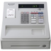 Sharp XE-A147B Thermal Receipt Cash Register - White