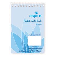 Note Book Aspire® Pocket 90 Page
