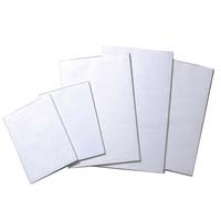 "Writer Bank Pad White Plain 6""x4"" 50gsm 100 Leaf 150x100mm"