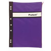 Binder Buddy Pencil Case Nylon Purple