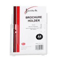 Jastek Brochure Holders - 1 Tier A4 F Stand Or W Mount