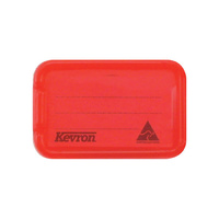 Kevron ID30 Key Tags Giant Red