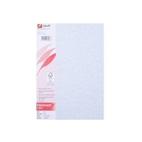 Quill Board Parchment 06093 A4 176gsm Blue Pk50