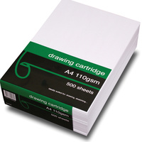 Quill Cartridge Paper 40008 A4 110gsm White Pk500