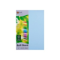 Quill XL Multiboard 210gsm A4 Powder Blue Pk50