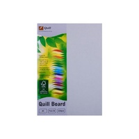 Quill XL Multiboard 210gsm A4 Grey 50s