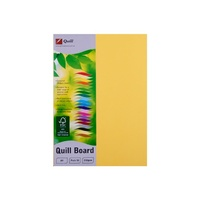 Quill XL Multiboard 210gsm A4 Lemon 50s