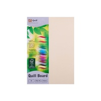 Quill XL Multiboard 210gsm A4 Cream 50s