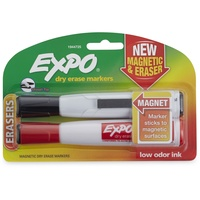 Expo Magnetic Dry Erase Marker - Chisel 2-Pack Assorted