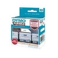 Dymo Labelwriter Labels Durable 25x89mm White