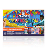 Elmers Celebration Slime Kit 10-pack
