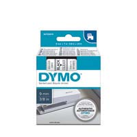 Dymo D1 Label Cassette 9mmx7M Black On Clear