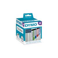Dymo Labelwriter Labels - Paper Lever Arch 59X190mm White