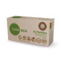 Tudor Eco Envelopes Banker DL 110x220mm Moist Seal Tray 100