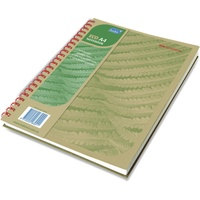 Tudor Eco Notebooks Spiral - A4 200Pg 8mm Ruled