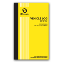 Olympic Vehicle Log Book Pocket 80gsm 180x110 64 Page