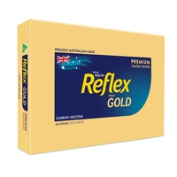 Reflex Tints Copy Paper - A4 80gsm Gold