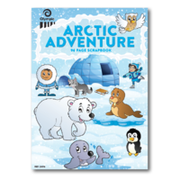 Olympic Arctic Adventure Scrap Book 335x240mm 96 Page