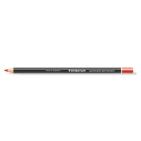 Staedtler 108 20 Lumocolour Permanent Glasochrom Pencil Red