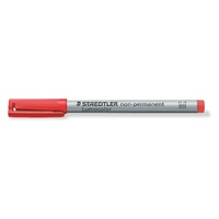 Staedtler 315 Lumocolor Pen Non Permanent Medium 1.0mm Red