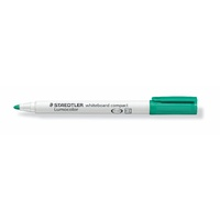 Staedtler 341 Whiteboard Marker Compact Bullet Point Green