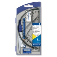 Staedtler 550 Noris Club Maths Set 8 Piece with Storage Box