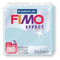 FIMO Effect 57gm Standard Block Blue Ice Quartz