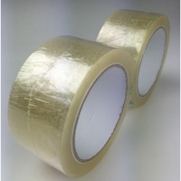 Nachi Easy Tear Packaging Tape - 48mmx50M Clear 2Pk