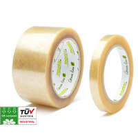 Monta Biopack® Environmental Clear Packaging Tape 48mm x 80m Pk6