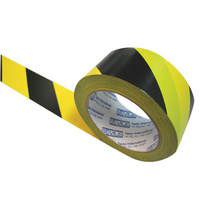 Stylus 471 Floor Marking Tape - Hazard Yellow/Black 48mmx33M