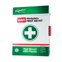 Trafalgar First Aid Kit 101559 National Standard Workplace Wallmount ABS