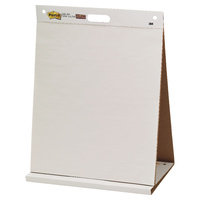 Post-it Table Top Easel Pad Plain 508x584mm Pk1 563R