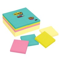 Post-it Super Sticky Notes Miami 76x76mm 654-24SSCYM