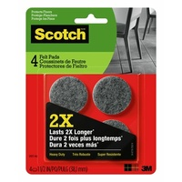 3M Command Heavy Duty Felt Pads SP871 3.8cm 4pk