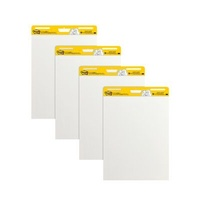 Post-it Super Sticky Easel Pad White 635x775mm Pk4 559-VAD