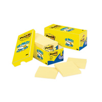 Post-it Pop-up Notes Canary Yellow Cabinet Pack 76x76mm Pk18 R330-18CP