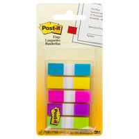 3M Post-It Mini Flags #683-5CB Mini Brights Pk5