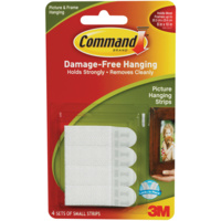 3M Command Picture Hanging Strips - Small #17202ANZ