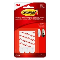 3M Command Adhesive Strips Medium #17021P