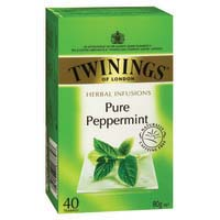 Twinings Peppermint Tea Bags - String & Tag Pk40
