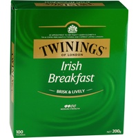 Twinings Irish Breakfast Tea  - String & Tag Pk100