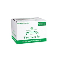Twinings Tea Bags Enveloped - Green Tea Carton 500