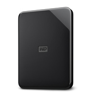 "WD Elements SE External 2TB USB3 2.5"" Hard Drive Black"