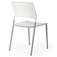 Eternia Stacking Chair White